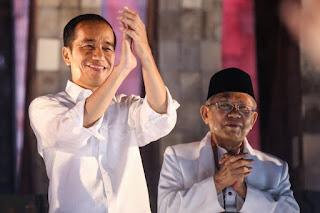 Survei IPO: Kinerja Jokowi-Maruf Bidang Hukum dan Kemanan Buruk