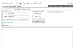 SamFirmTool_A.i.O_v1.5.4 Released