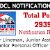 TSSPDCL recruitment 2019 JLM Junior assistant and JPO Post's 2939 notification 2019