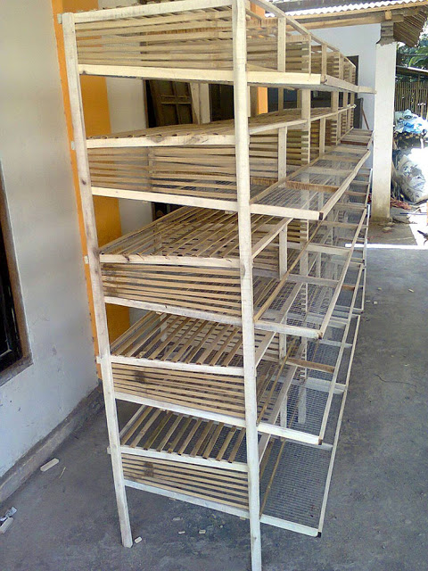 Ini Cara Membuat Kandang Puyuh Dari Bambu - johnny89