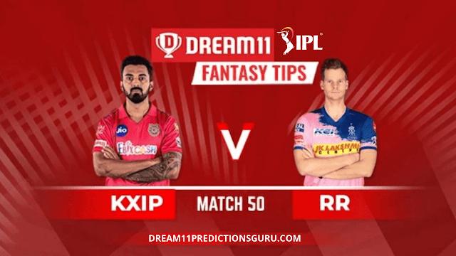 KXIP vs RR Dream11 IPL Fantasy Predictions and Tips