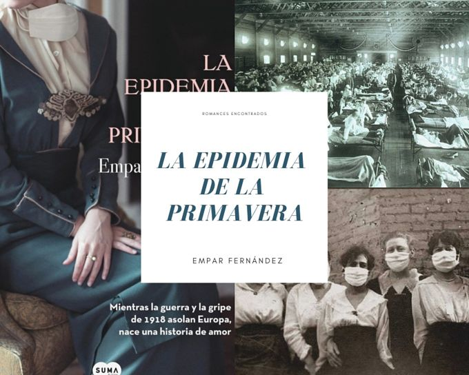 Fan art del libro La epidemia de la primavera de la autora Empar Fernandez