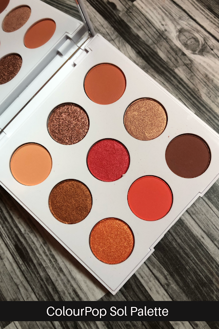 ColourPop Sol Palette (Review and Swatches)