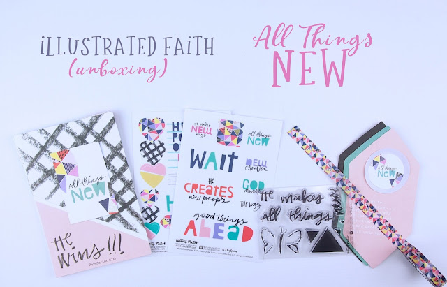 Heather's Hobbie Haven - Illustrated Faith - All Things New Devotional Kit
