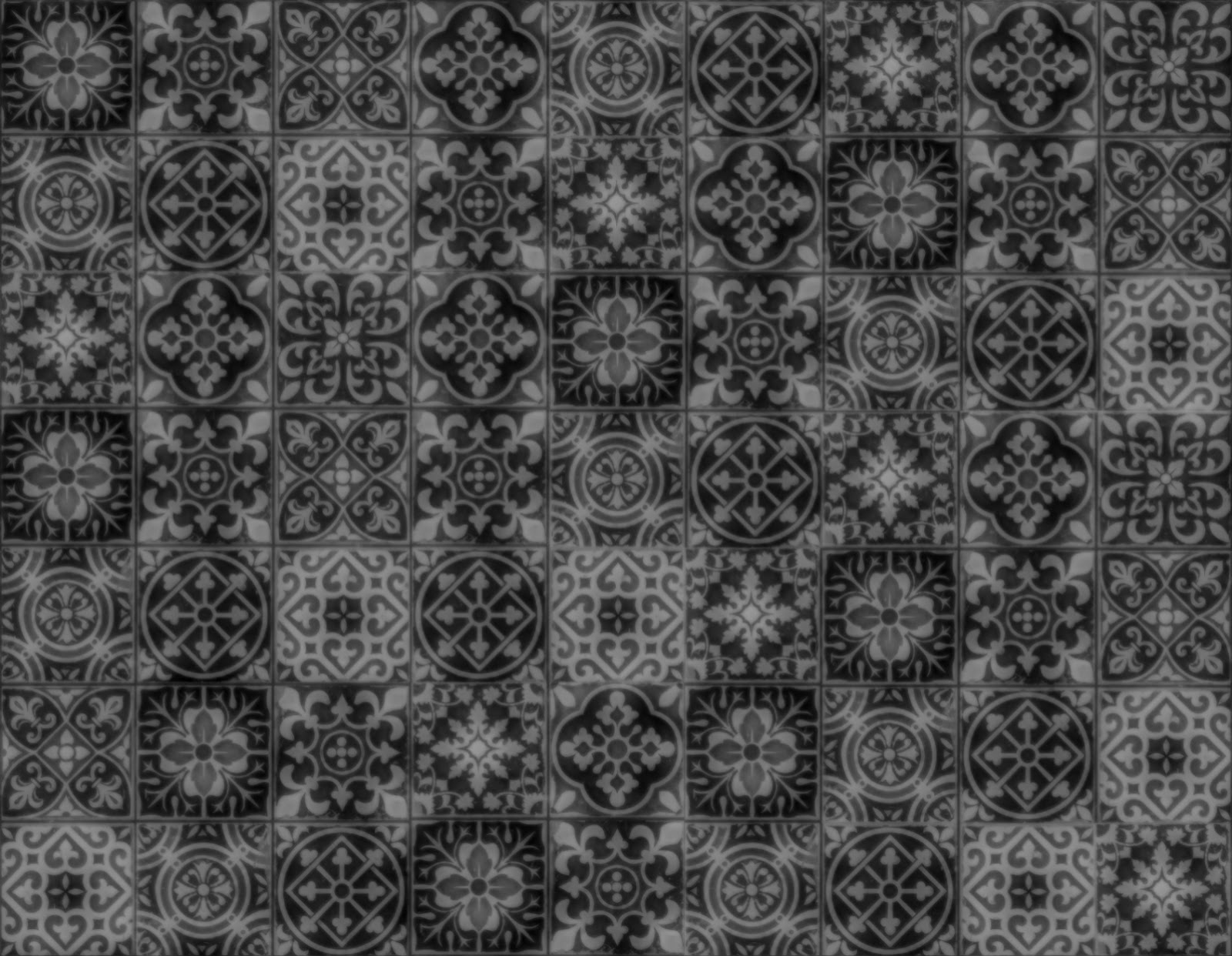 Seamless Texture With: Seamless Patchwork Tiles Texture