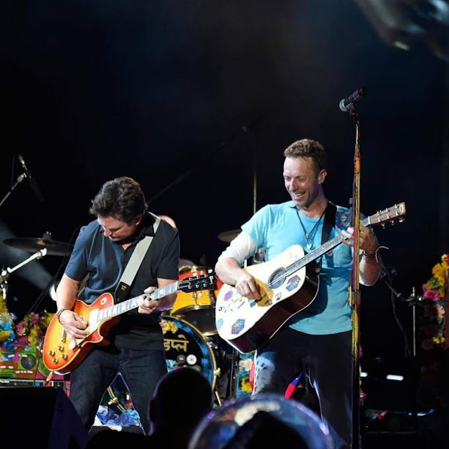 Michael J. Fox y Coldplay