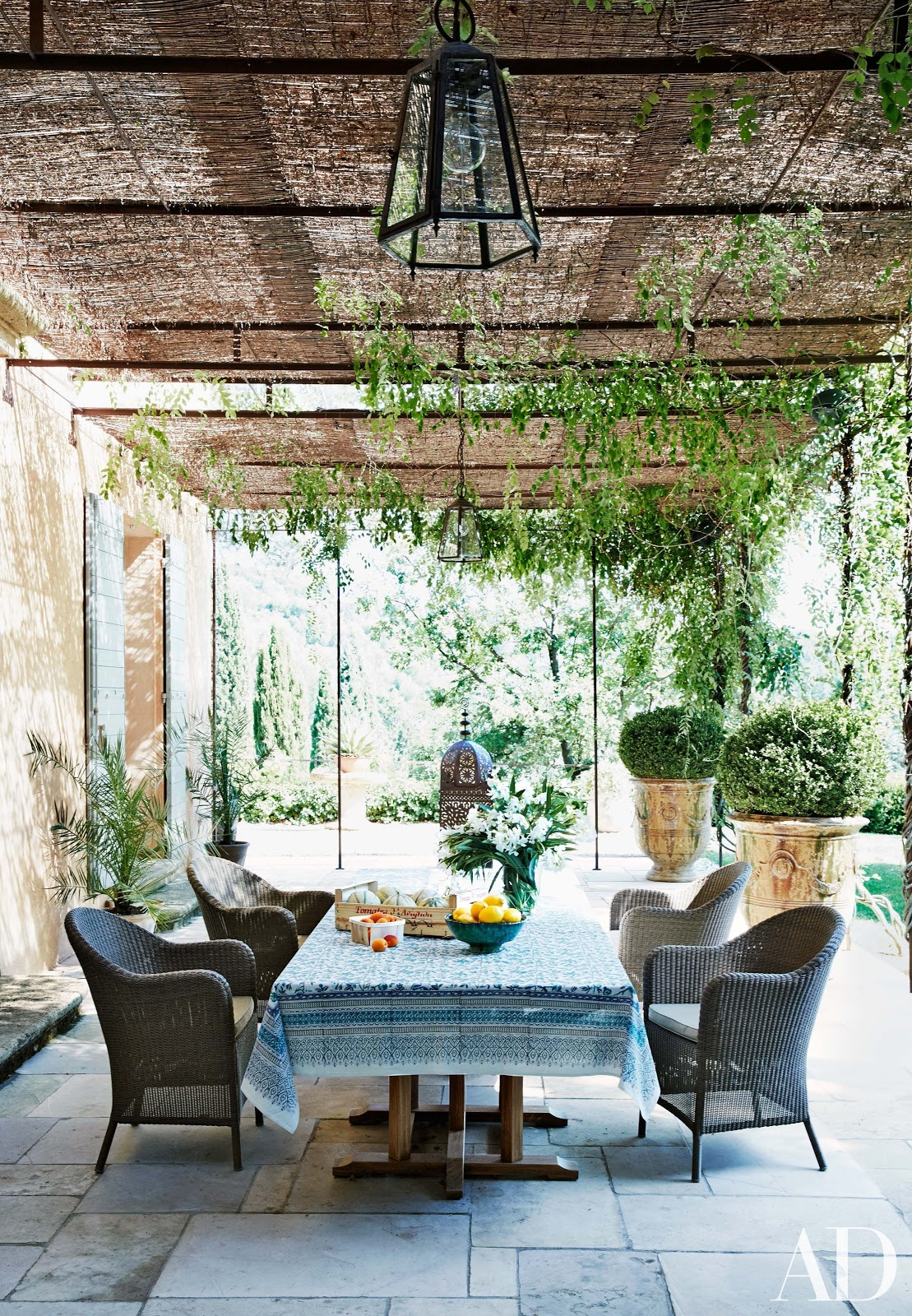 Decor inspiration south of france home fr d ric fekkai for Outdoor patio inspiration
