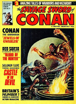 Savage Sword of Conan #22, Marvel UK
