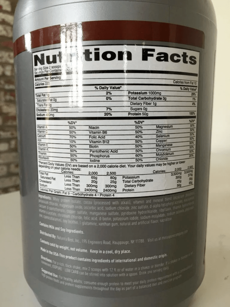 Do you Lose or Gain Weight by Consuming ISOPURE Protein Supplements?