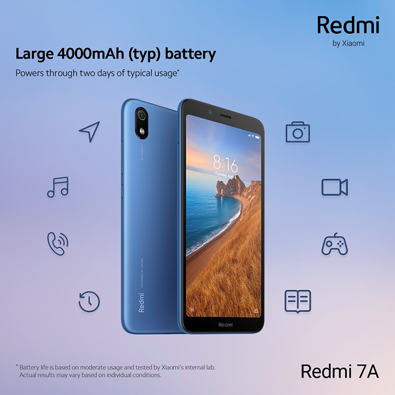 Xiaomi releases Redmi 7A in PH, a feature-packed phone for less!