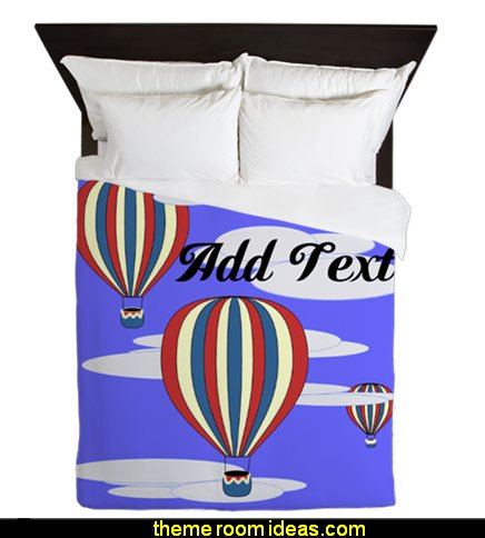 Hot Air Balloon Duvets