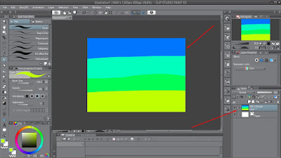 Tutorial Menggunakan Gaussian Blur di Clip Studio Paint Untuk Pemula