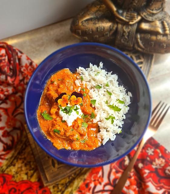 Pollo al curry. Sri Lanka