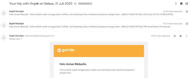 Penutupan Akun Gojek Customer