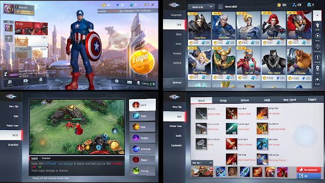 Game Moba MARVEL Super War Akhirnya Rilis Di Indonesia – Total Size Juga Lumayan Kecil