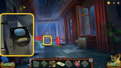 укладываем доску на пол и билет в автомат в игре затерянные земли 5