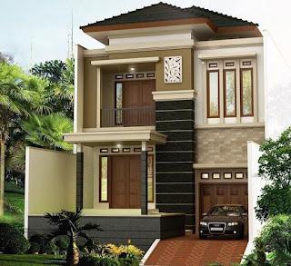 Contoh Desain Rumah Gaya Baru