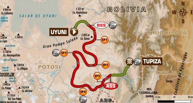 Etapa 8 va desde Uyuni hasta Tupiza