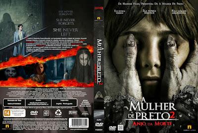 Filme A Mulher de Preto 2 - Anjo da Morte DVD Capa