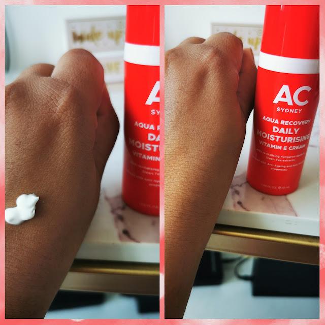 Australian Cosmetics Hyaluronic Acid Vit E Moisturizing Cream