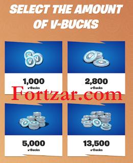 Fortzar.com free vbucks Fortnite V Bucks For Forever