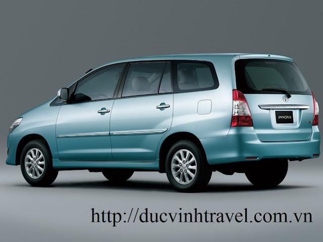cho thuê xe innova 7 chỗ tại Hà Đông