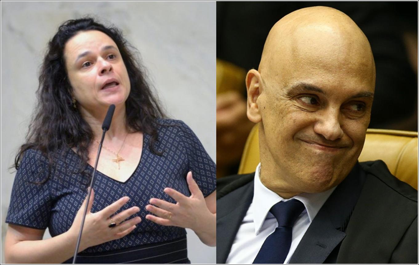 """Janaína critica ações do STF contra bolsonaristas: """"Algo estranho está ocorrendo"""""""