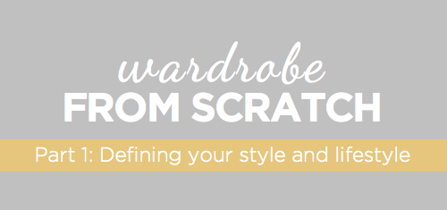 building a wardrobe from scratch