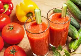 Cara Alami Untuk Diet Dengan Jus Timun dan Tomat