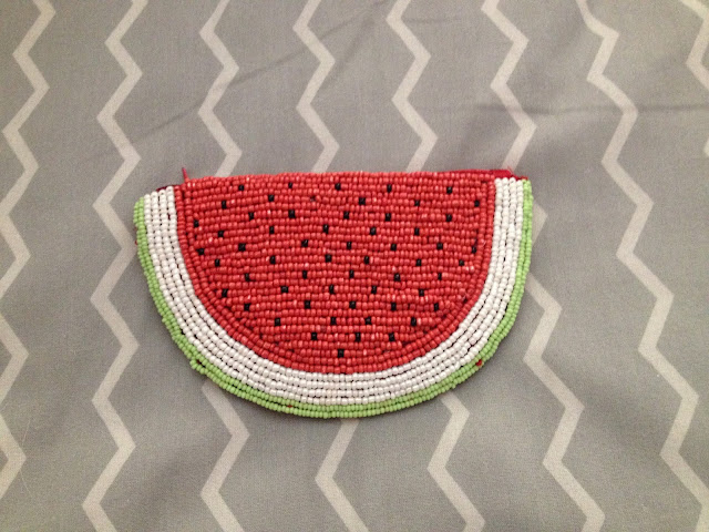 Monedero sandía / Watermelon purse