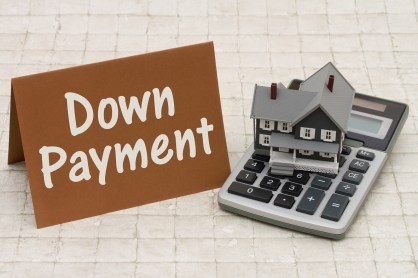 concept of down payment in installment purchase