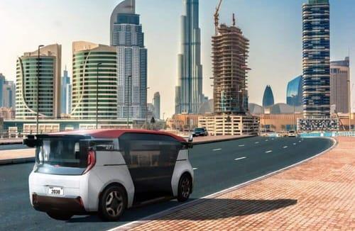 Cruz brings driverless taxis to Dubai