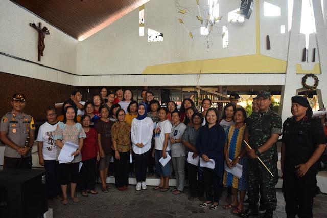 Dandim Dan Kapolres Klaten Cek Gereja Jelang Perayaaan Natal 2019