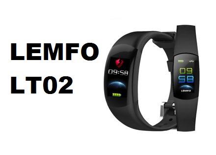 LEMFO LT02 Smart Band Specs, Price, Features