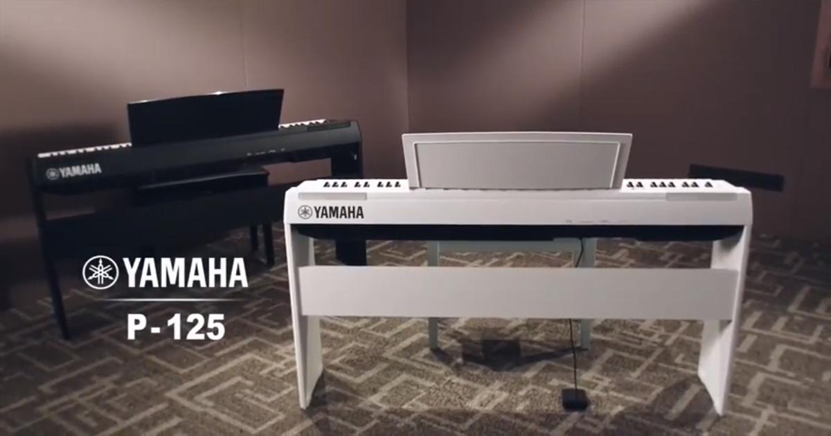 đánh giá đàn yamaha p125