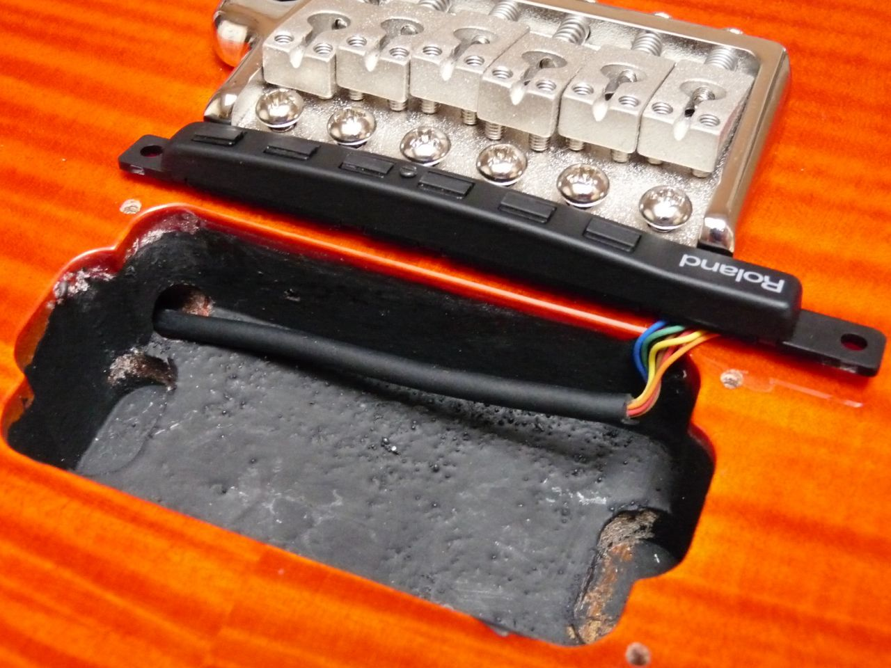 prs se pickup wiring diagram vt stereo midi guitars custom 24 adding an internal roland