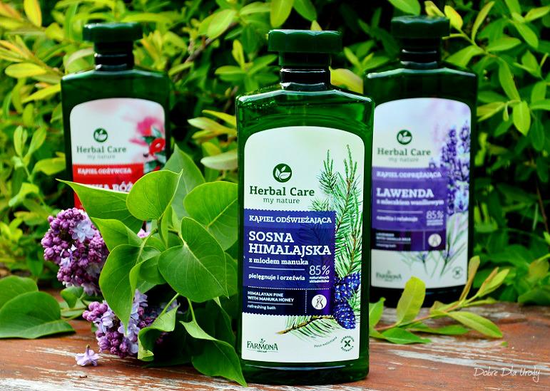 Kąpiel Odświeżająca Sosna Himalajska z miodem manuka Herbal Care Farmona  recenzja