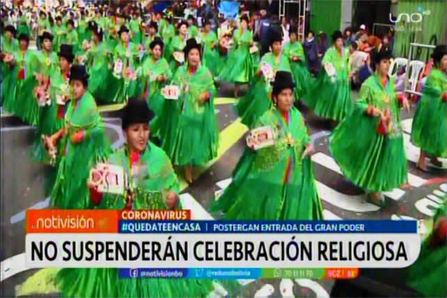 Todas las fiestas patronales se suspenden en zonas y provincias; instan a fraternos a mostrar solidaridad