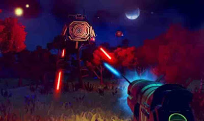 Gameplay and Features of No Man's Sky