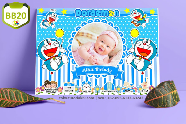 Biodata Bayi Costume Baby Girl Kode BB20 | Doraemon