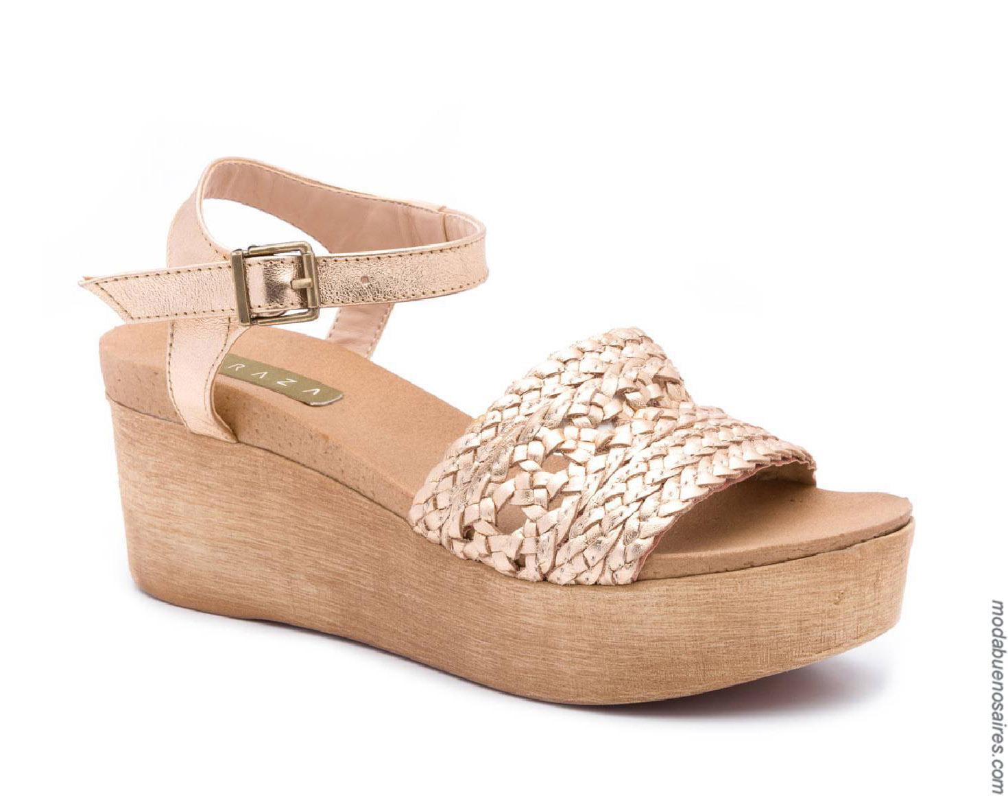 Moda calzado femenino primavera verano 2020.