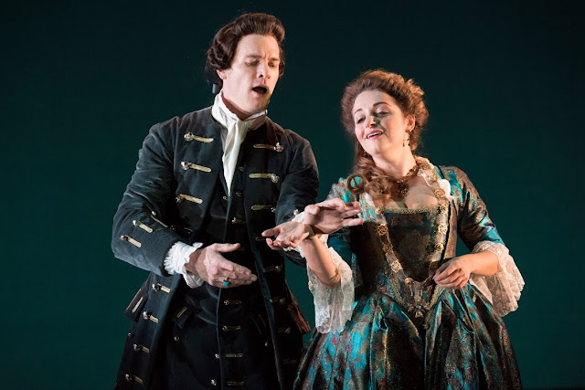 English Touring Opera - Handel Giulio Cesare - Christopher Ainslie, Soraya Mafi - (Photo Richard Hubert Smith)