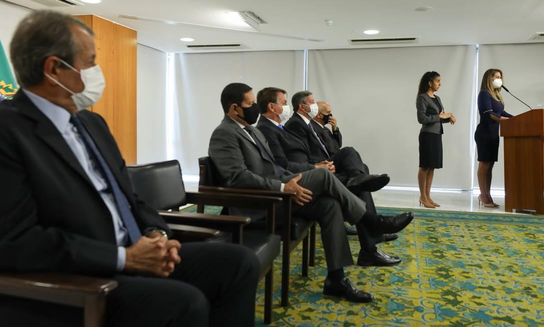 Condenado no mensalão participa de posse de nova ministra do governo Bolsonaro