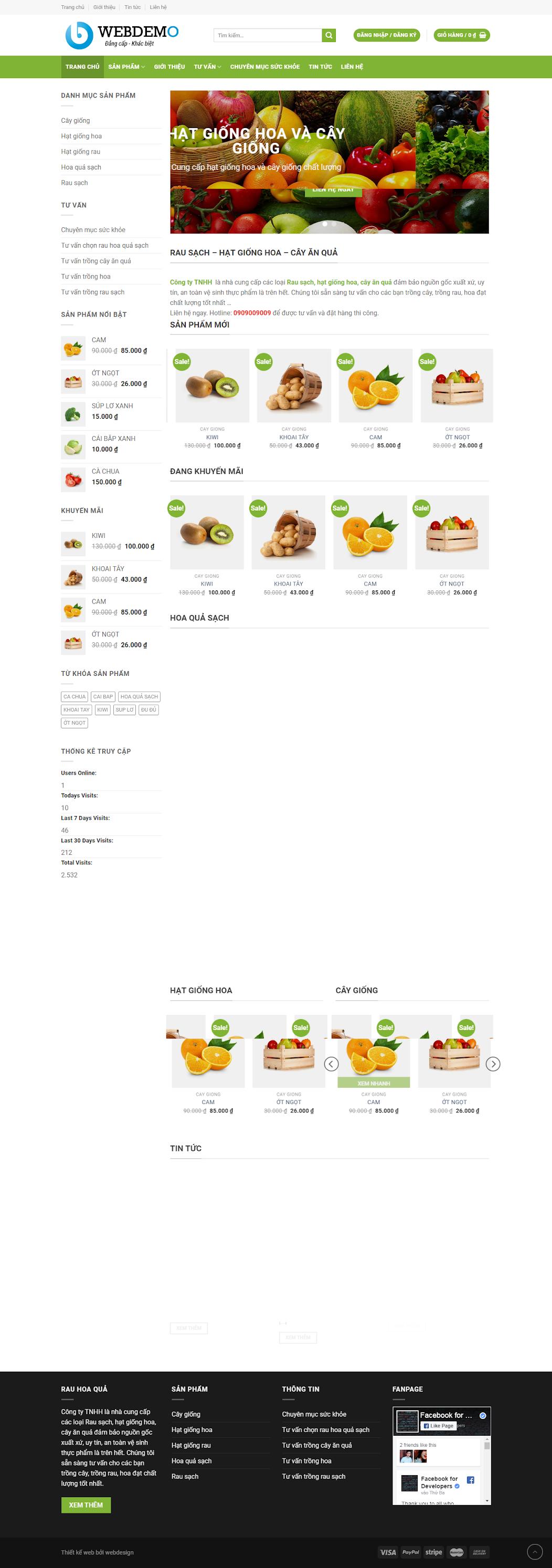 mẫu foody