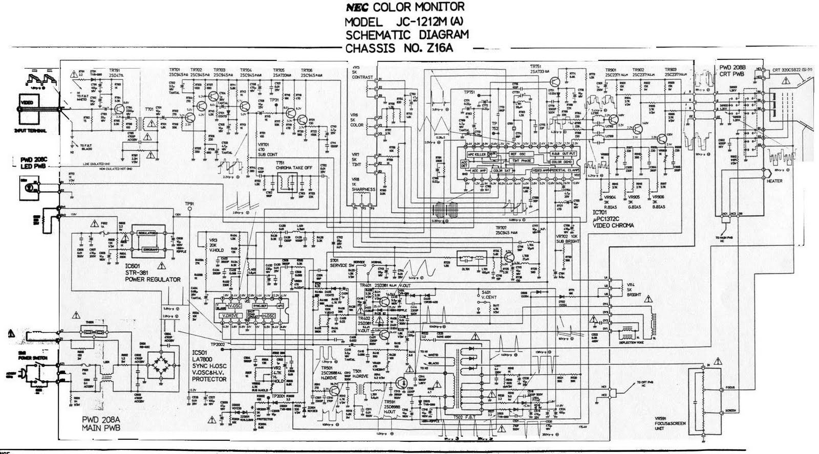 Computer Circuit Diagram Data Wiring Diagram Blog
