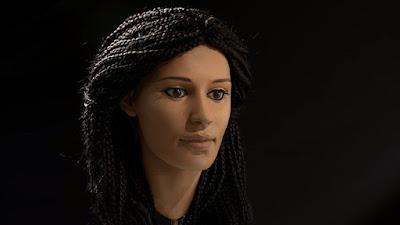 joven egipcia que murió hace 2 mil años