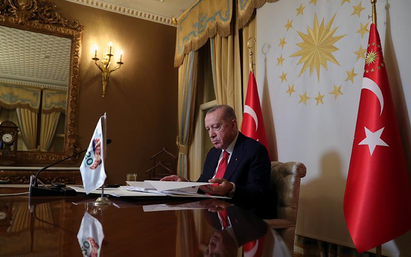 Για «ελληνική προβοκάτσια» κατά του τουρκικού πλοίου μιλά ο Ερντογάν
