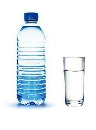 Air putih dalam botol