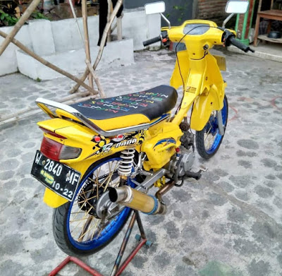 modifikasi honda grand simple