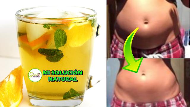 Bebida Rápida para Quemar la Grasa del Vientre sin Efecto Rebote